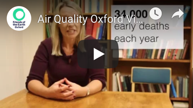 Video about air quality in Oxford