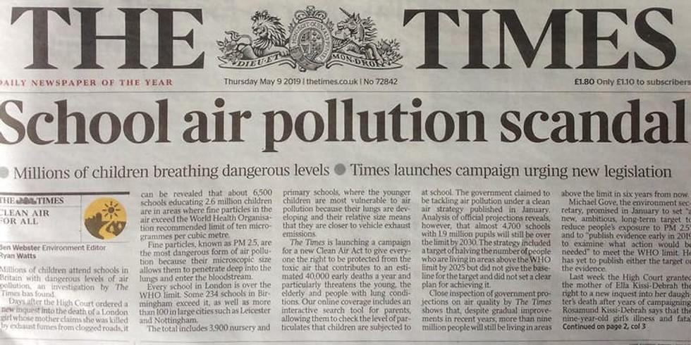 Schools, Clean Air & Active Transport