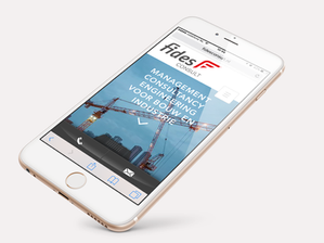 Ontwerp responsive website Fides Consult b.v.