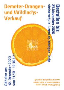 Orangen und Lachs-Verkauf 2020