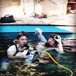 Dual Underwater Breathing Air-Pump