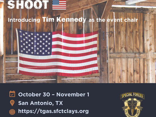 Introducing the TGAS 2020 Event Chair - Tim Kennedy!!