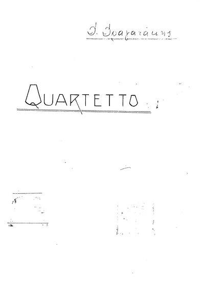String Quartet No. 1 (1957)