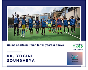 Dr. Yogini Soundarya Nutrition