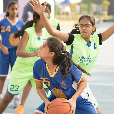 India on track - NBA Basketball Schools at Home