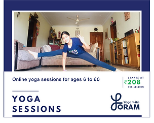 Yoga with Foram