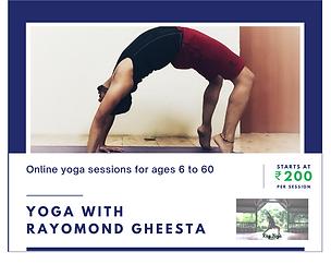 Rayomand Gheesta Yoga