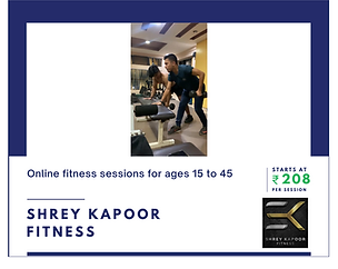 General Fitness with Shrey Kapoor