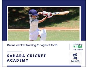 Sahara cricket academy