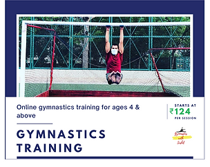 Gymnastics classes by Sushil