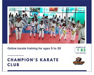Champion's Karate Club