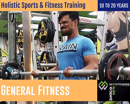 Mayuresh Yelve's Fitness Training