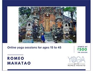 Yoga with Romeo Mahato