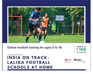 India On Track- LaLiga Football Schools