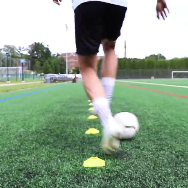 Dribbling between legs
