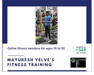 Mayuresh Yelve's Fitness Training