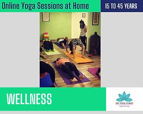Yoga Studio by Jasmine Singh