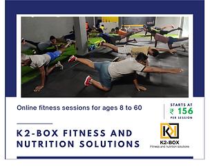 K2-Box Fitness & Nutrition Solutions