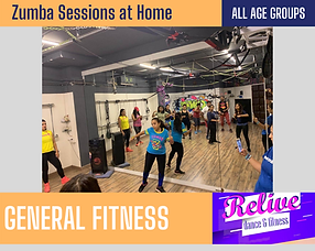 Relive Dance Fitness
