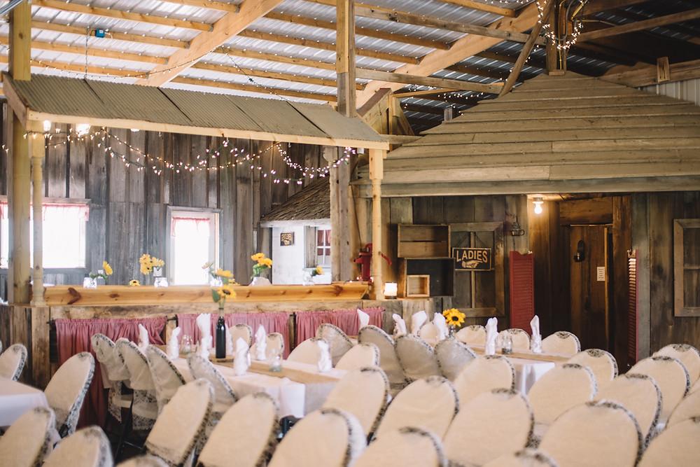 Homestead Reception Center, Tallula, IL, Illinois, Springfield, Petersberg, Rustic, Wedding, Venue, Barn, Wood, Lights, Unique