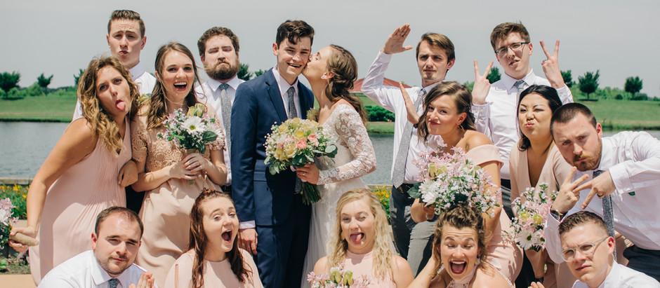 patrick + abigail :: erin's pavilion | springfield, il wedding