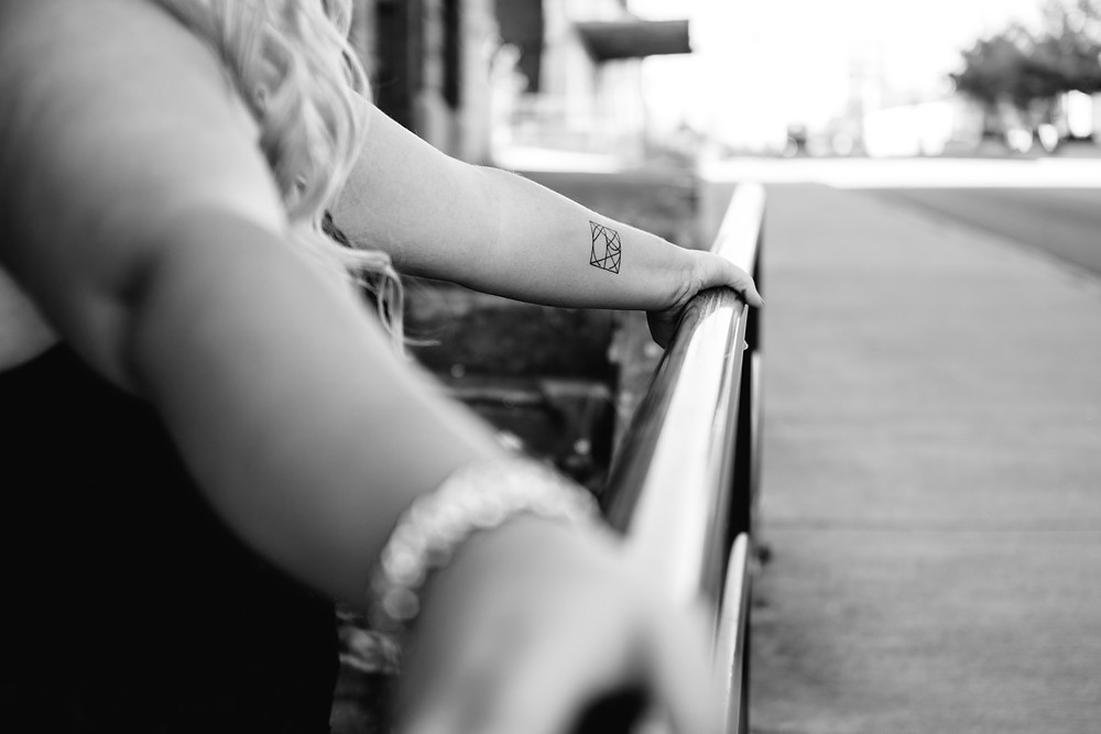downtown peoria, il, illinois, downtown peoria il, peoria il senior, peoria il senior photographer, springfield il senior photographer, springfield il senior photography, lincoln il senior photographer, sherman il senior photography, urban senior photoshoot, urban senior photos, old factory senior photo, senior prom dress photos, senior tattoo