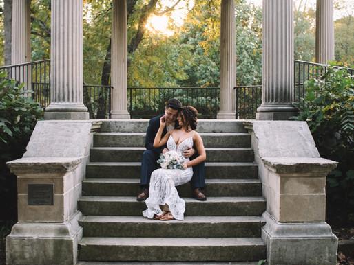 washington park wedding / springfield, il // tommy + katy 10.10.2020