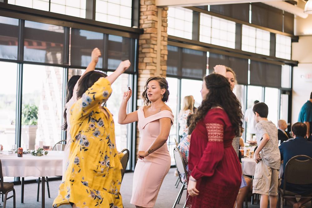 Erin's Pavilion, Springfield, IL, Illinois, Wedding, Venue, Sherman, Chatham, Reception, Ceremony, Indoor, Lake, Central Illinois, Photography, Photographer, Bride, Groom, Reception, Dancing