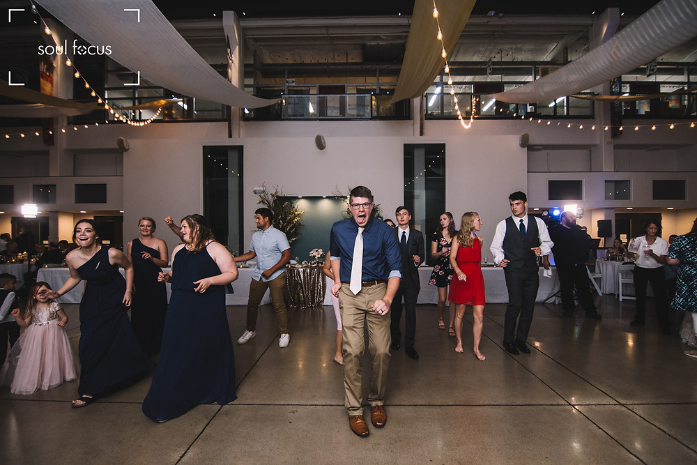 Wedding Photography | Dancing | St. Charles | Bride | Missouri | MO | Lincoln | Soul Focus | Foundry Art Centre