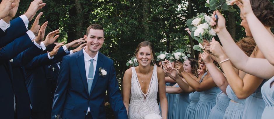 peoria, il summer wedding // austin + kenzie