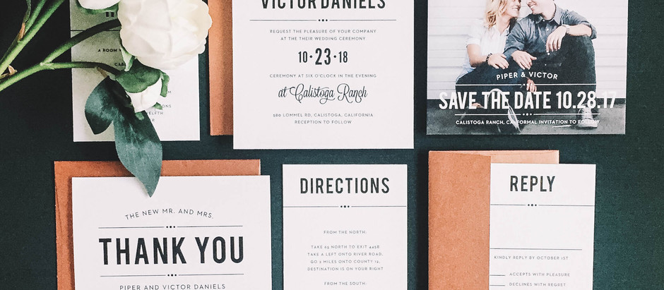 wedding stationary resource // wedding invitation ideas + engagement party cards