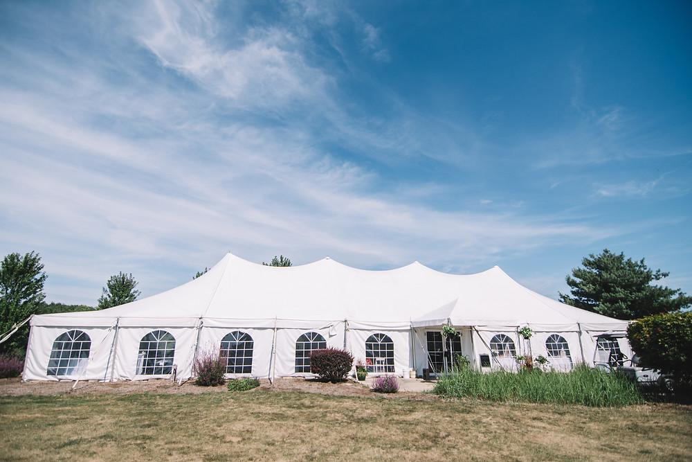 Springfield, IL, Illinois, Pipe Glen, Golf Club, Tent, Reception, Course, Wedding Venue, Outdoor Wedding, Central Illinois, Chatham