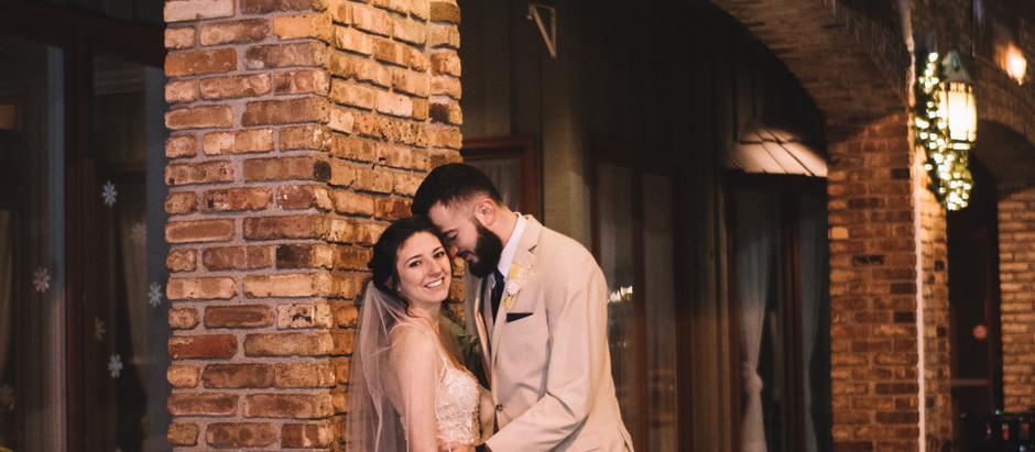 brenden + savanna :: winter wedding | kankakee, il wedding