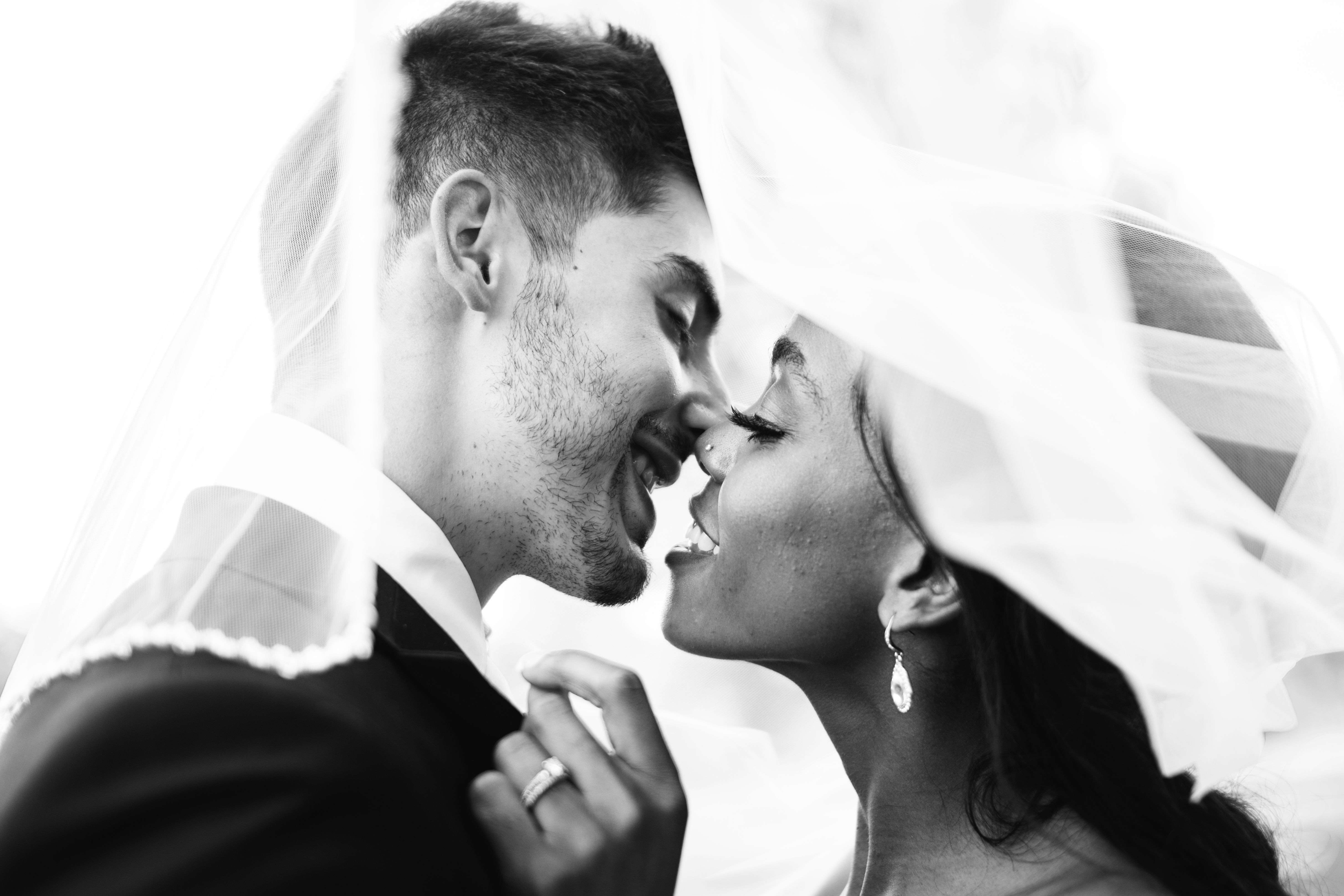 interracial couple, black white bride and groom, haitian wedding, haitian bride, interracial wedding