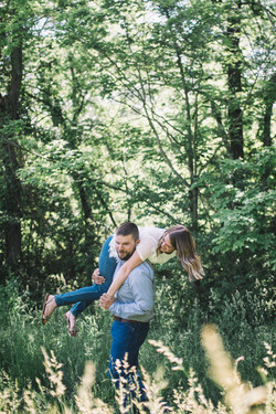moraine view park, park engagement photos, illinois engagement photos, central illinois engagement p