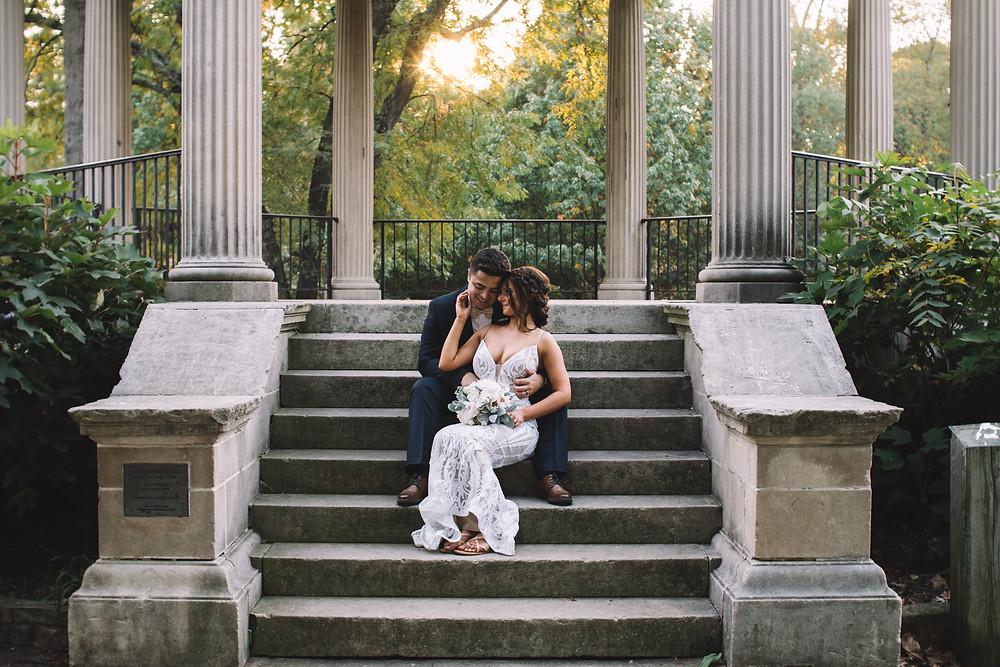 Washington Park, Springfield, Springfield IL, IL, Illinois, Gazebo, Outdoor Wedding, Central IL, COVID Ceremony, Venue
