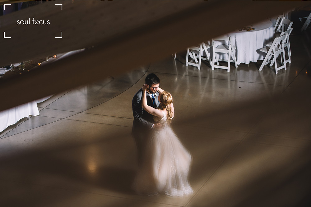 Wedding Photography | First Dance | St. Charles | Bride | Missouri | MO | Lincoln | Soul Focus | Foundry Art Centre