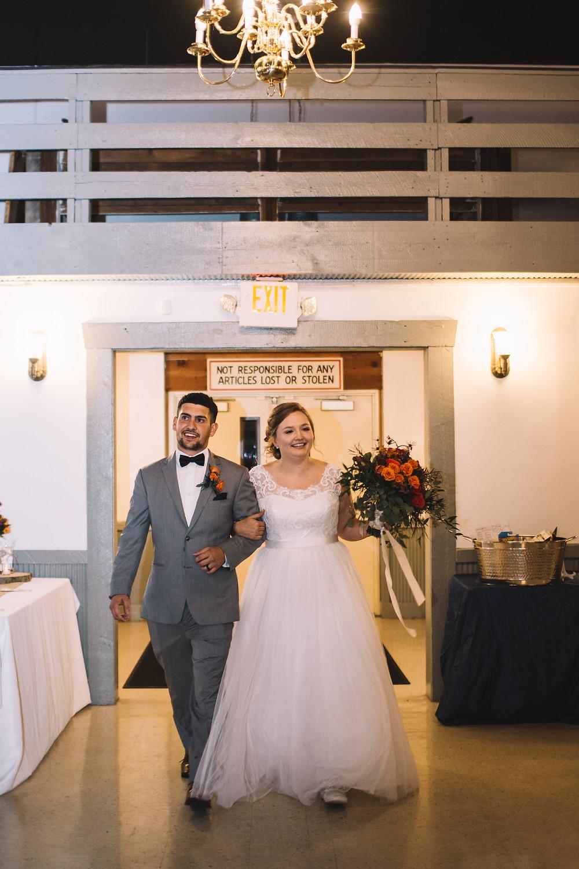 Lincoln Banquet Center, Lincoln, IL, Illinois, Wedding Venue, Central Illinois, Bar, Catering, Handicap Accessible, Reception, Grand Entrance, Bride, Groom