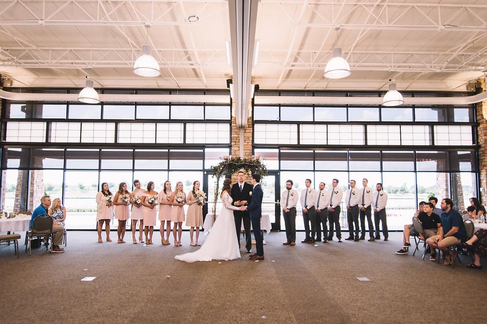 Erin's Pavilion, Springfield, IL, Illinois, Wedding, Venue, Sherman, Chatham, Reception, Ceremony, Indoor, Lake, Central Illinois, Photography, Photographer, Bride, Groom, Ceremony