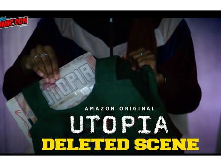 #NYCC2020: Show Runner & Cast of 'Utopia' share a deleted scene with the fans at New York Comic-Con!