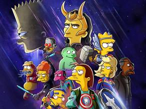 "Tom Hiddleston Returns As ""Loki"" For New Simpsons Animated Short!"