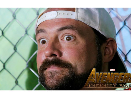 KEVIN SMITH JUST SAW AVENGERS: INFINITY WAR AND HERE'S WHAT HE THOUGHT!!