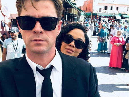 THATS A WRAP! MEN IN BLACK REBOOT HAS FINISHED FILMING.