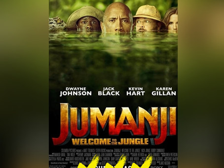 JUMANJI: WELCOME TO THE JUNGLE [REVIEW]