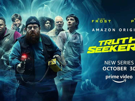 #NYCC2020: Truth Seekers Creator Nick Frost and cast, share real life ghost stories at NY Comic Con!