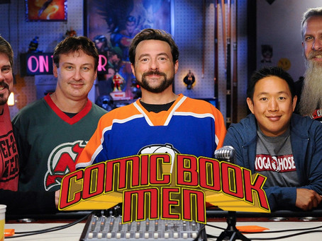 AMC CANCELS KEVIN SMITH'S COMIC BOOK MEN AFTER 7 SEASONS!