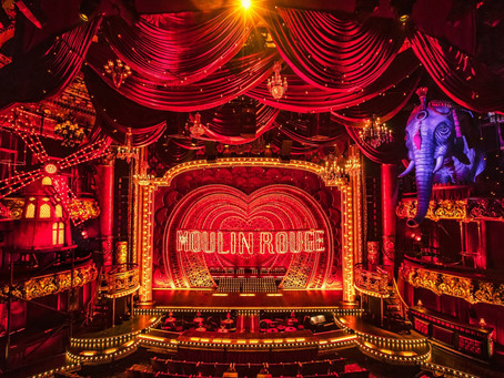 THE MOULIN ROUGE TAKES THE STAGE, AND SETS IT ON FIRE!
