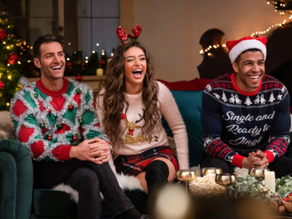 """HBO Max Debuts a Holiday Twist on the Dating Show Genre with """"12 Dates of Christmas""""!"""