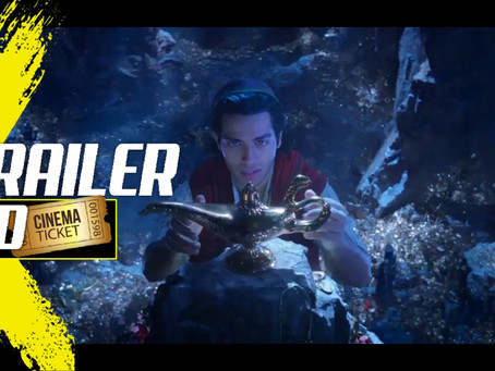 DISNEY'S LIVE ACTION 'ALADDIN' TEASER IS FINALLY HERE!