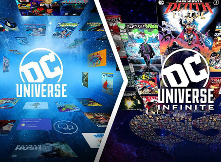 "'DC Universe' will no longer stream shows, as it will convert to a ""comics only"" platform in 2021!"